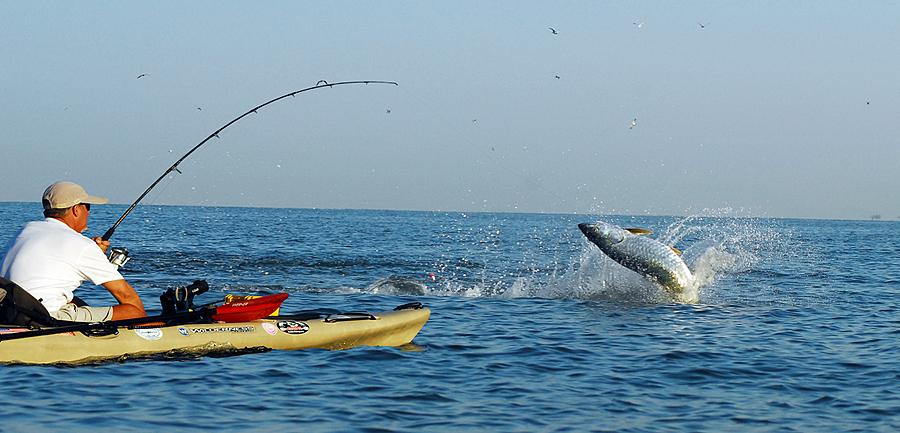 Angling  - Boat kayaking