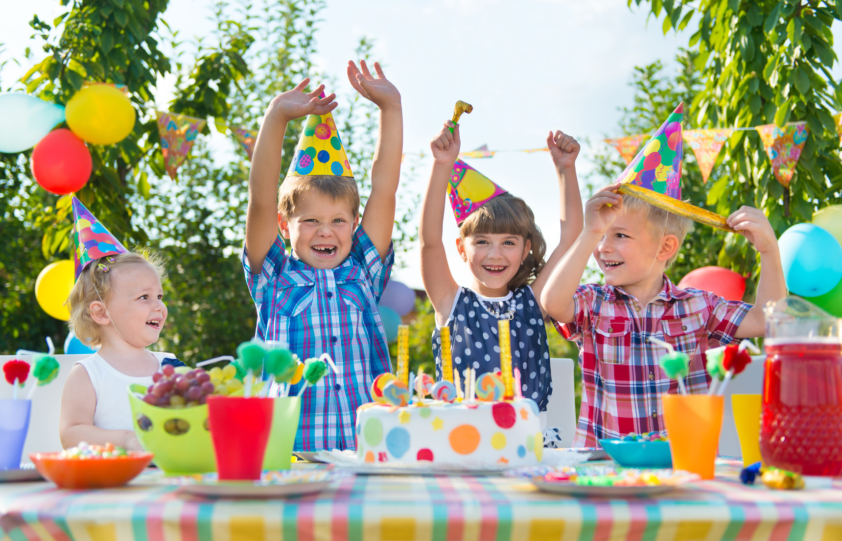 kids party, Things to do during the day