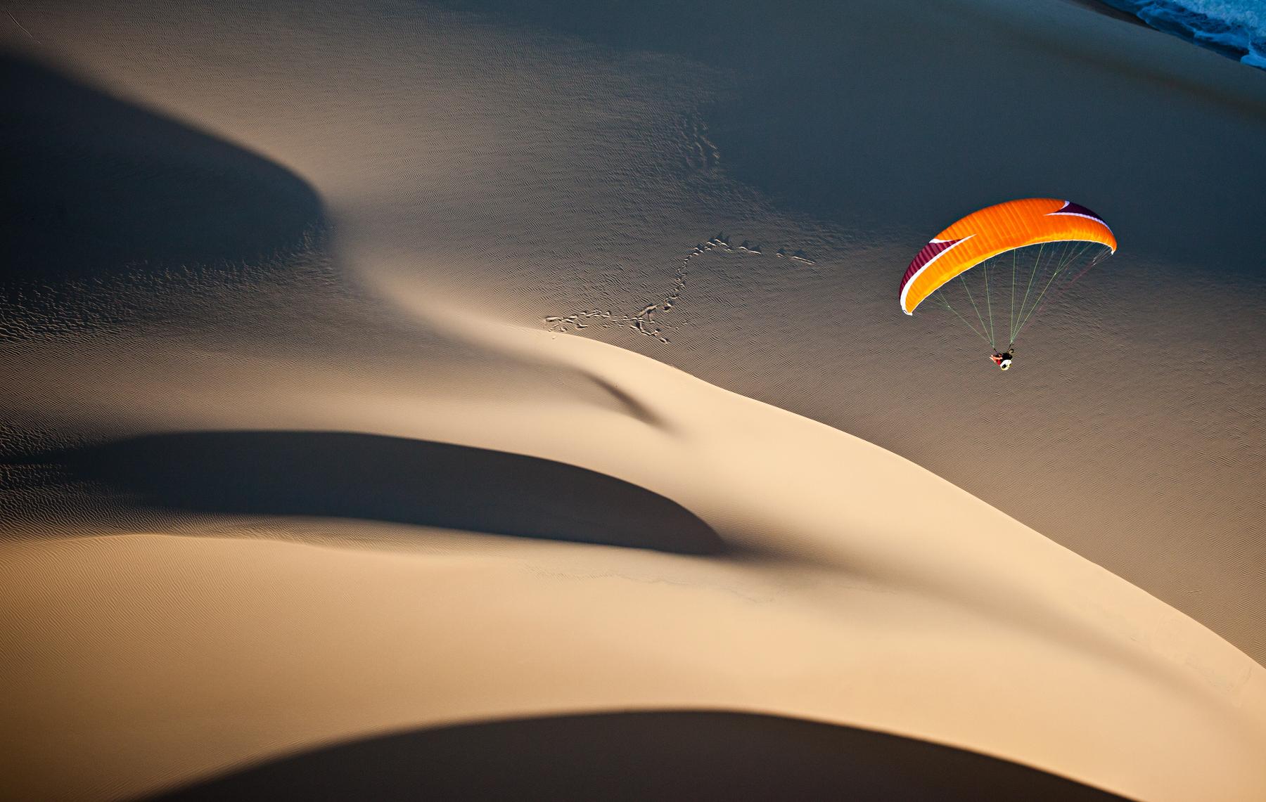 Bazaruto Archipelago paragliding