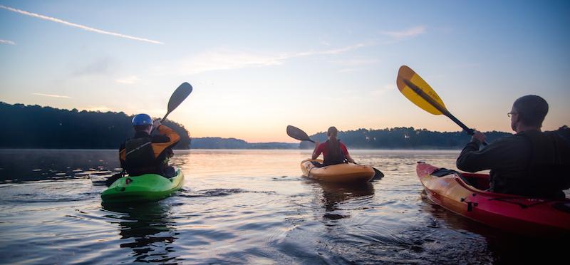 Boat Kayaking Lake Allatoona - Boat Kayaking