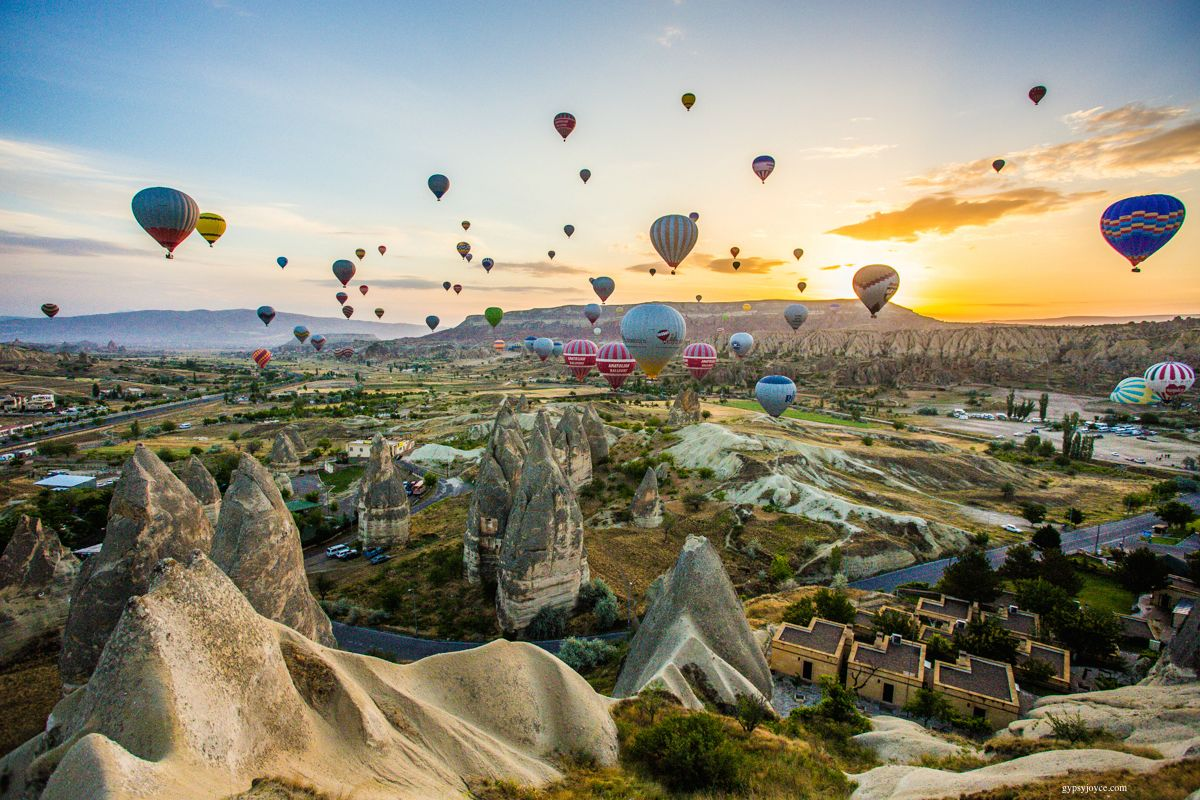 Cappadocia, Turkey hot air balloon - Hot Air Balloon
