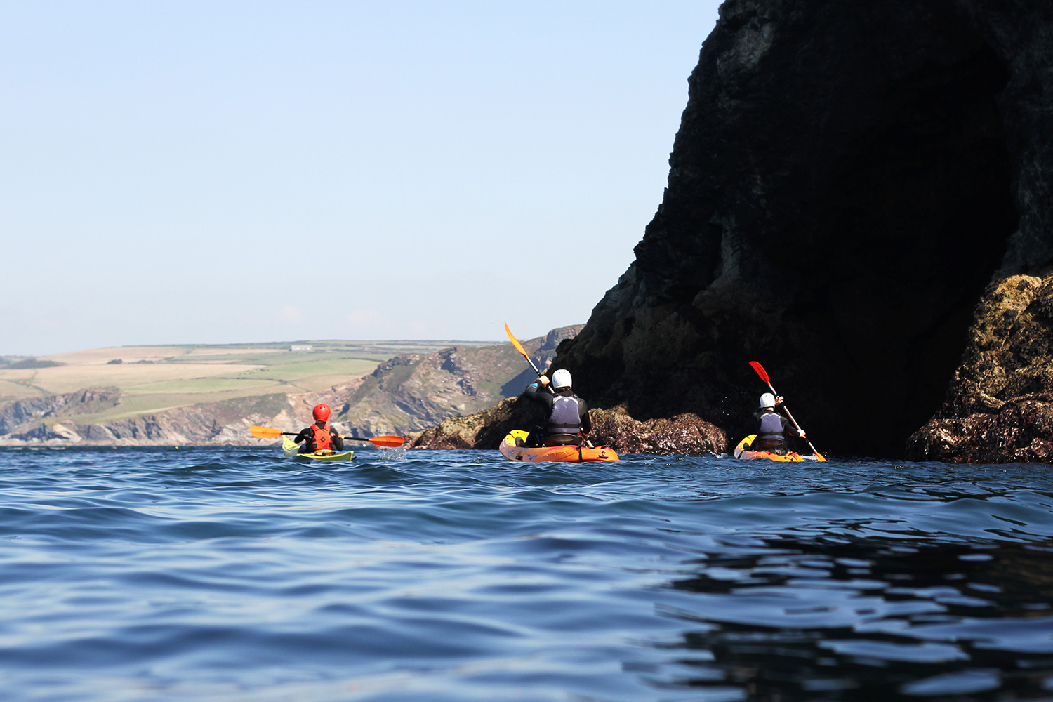 Cornish Coast, UK - kayak