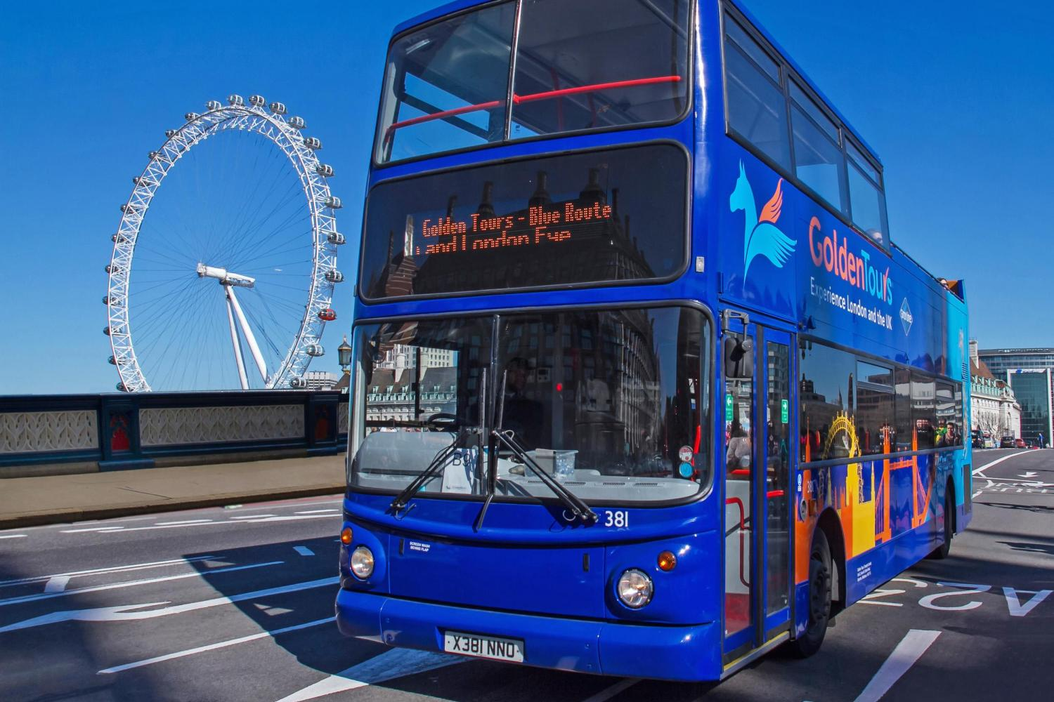 Hop on Hop off Bus Tour - things to do in London