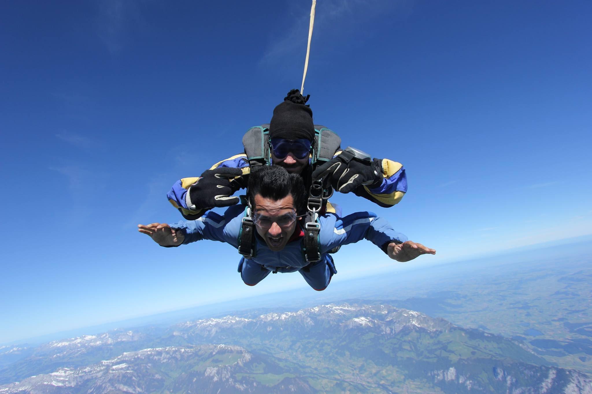 Interlaken, Switzerland skydiving - skydiving