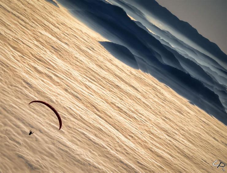 Julian Alps, Slovenia paragliding