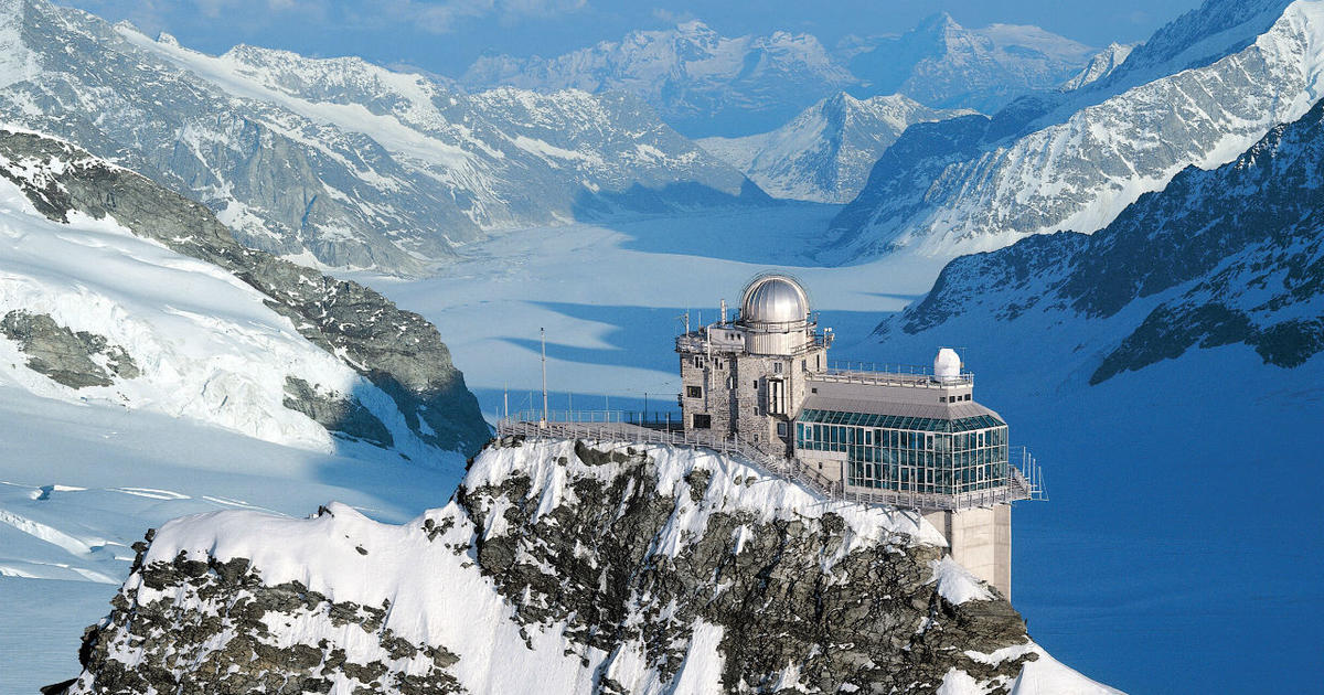 Silver tomb - things to do in Switzerland in winter