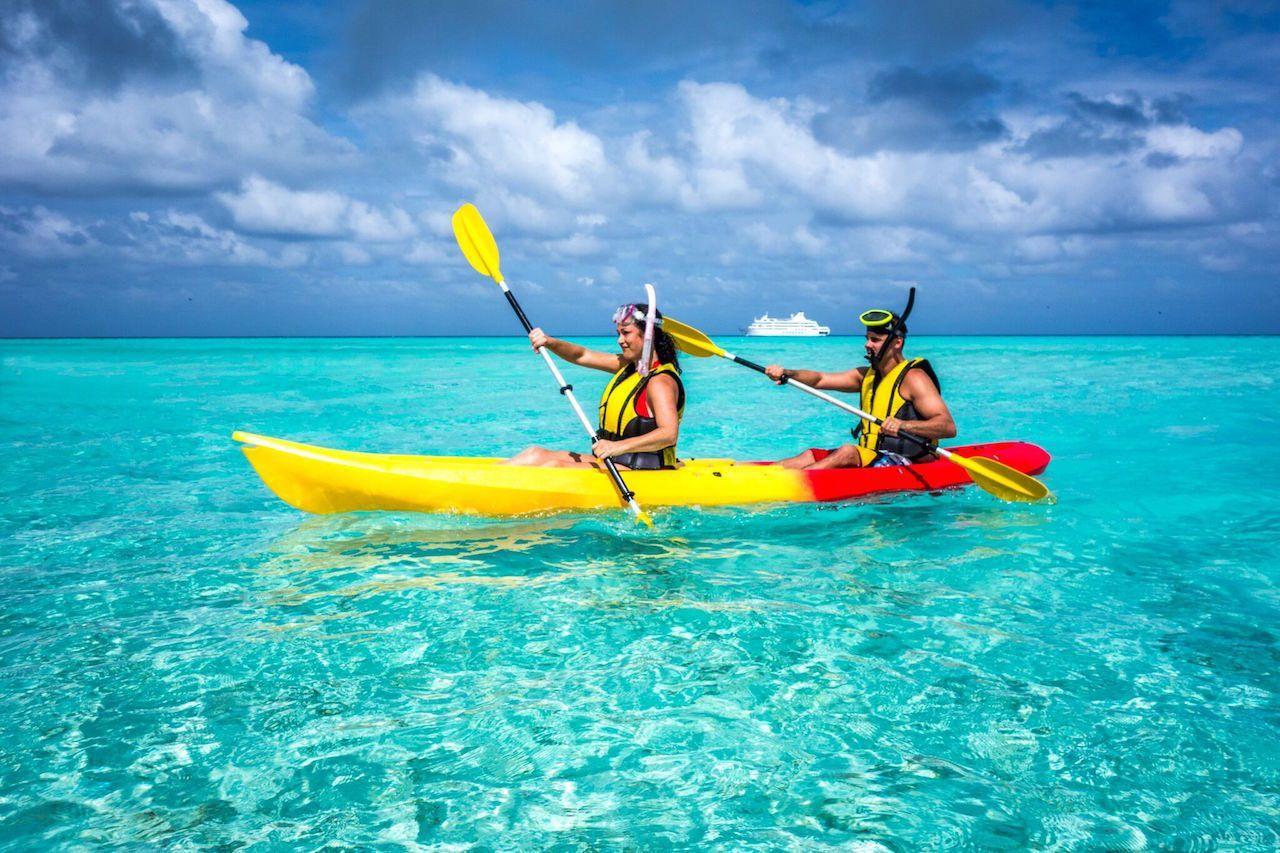 Kadavu Island, Fiji - kayak