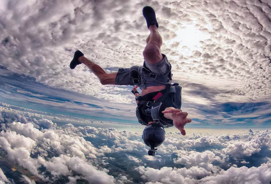 Le Marche, Italy - skydiving