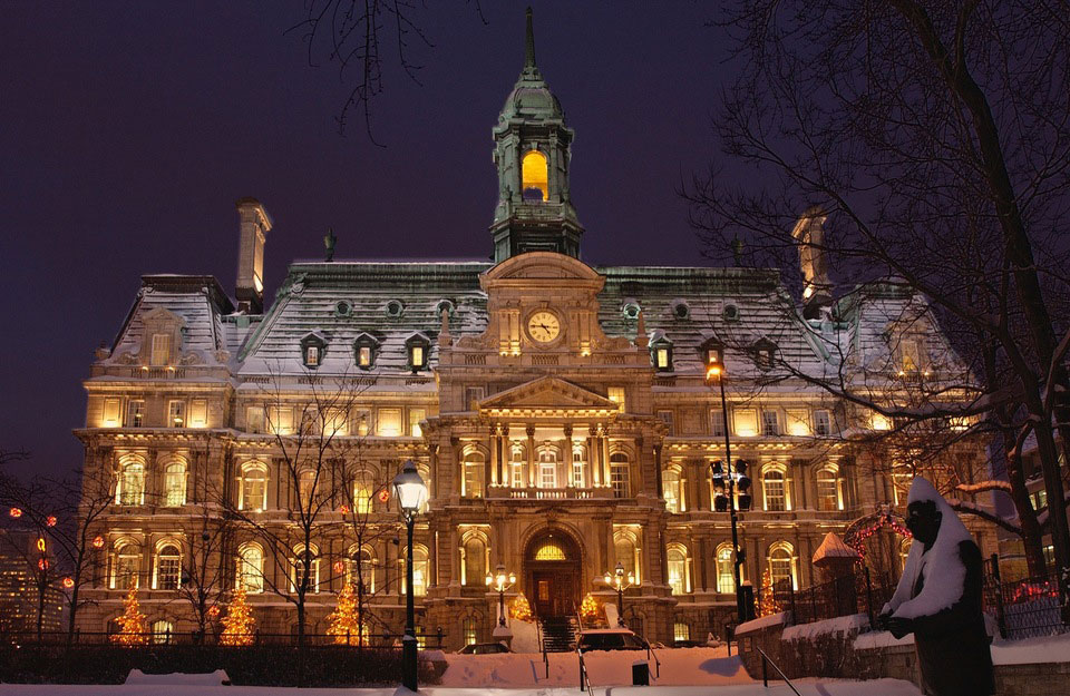 Montreal City Hall - Montreal Quebec Canada