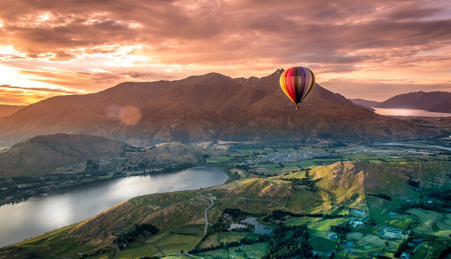 Queenstown, New Zealand - Hot Air Balloon