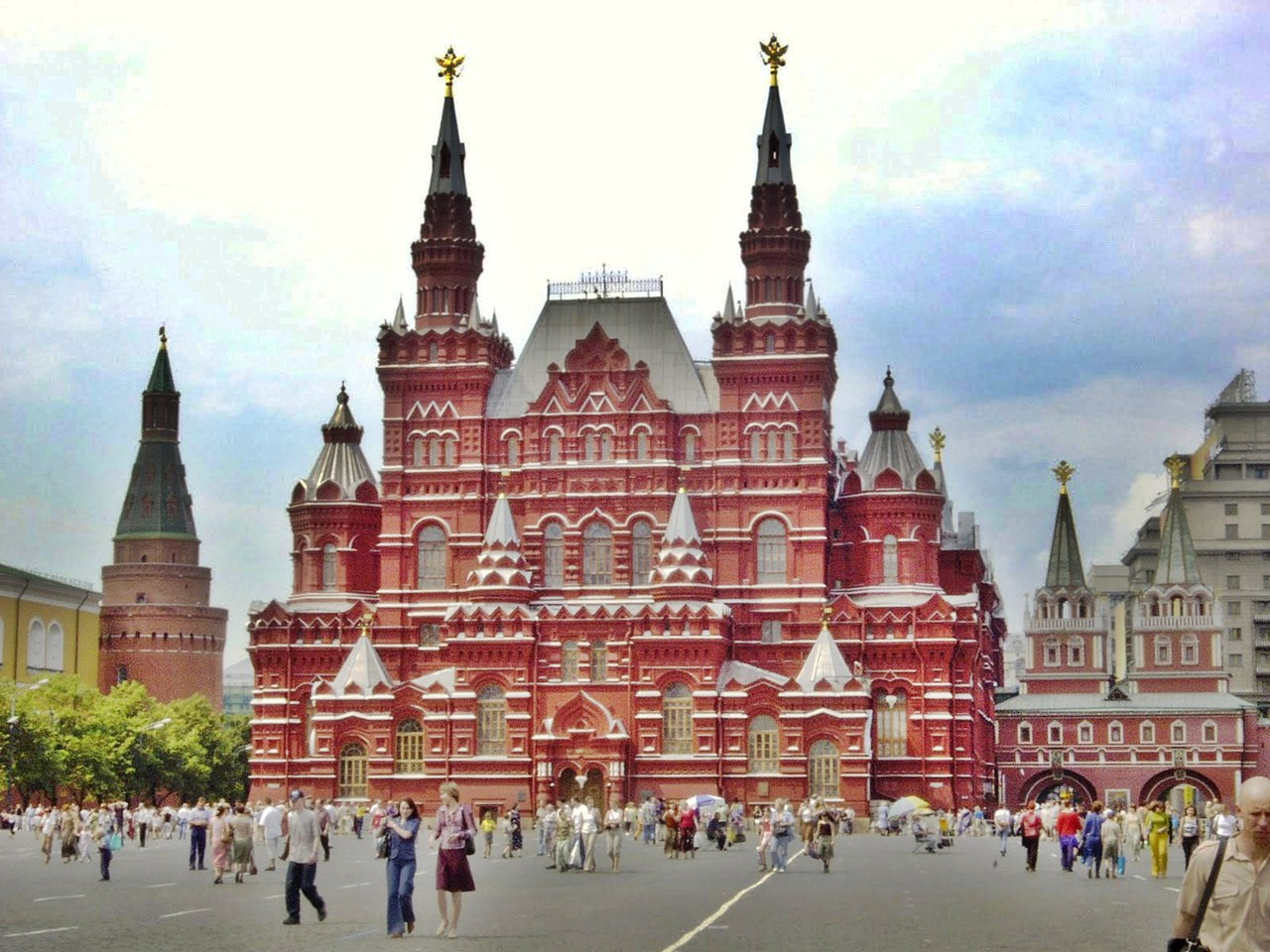 red square - places to go in Europe