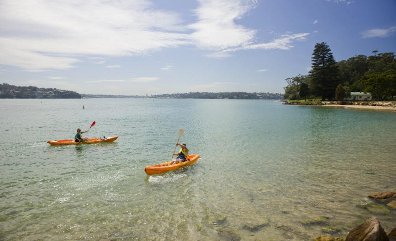 Royal National Park - Boat Kayaking