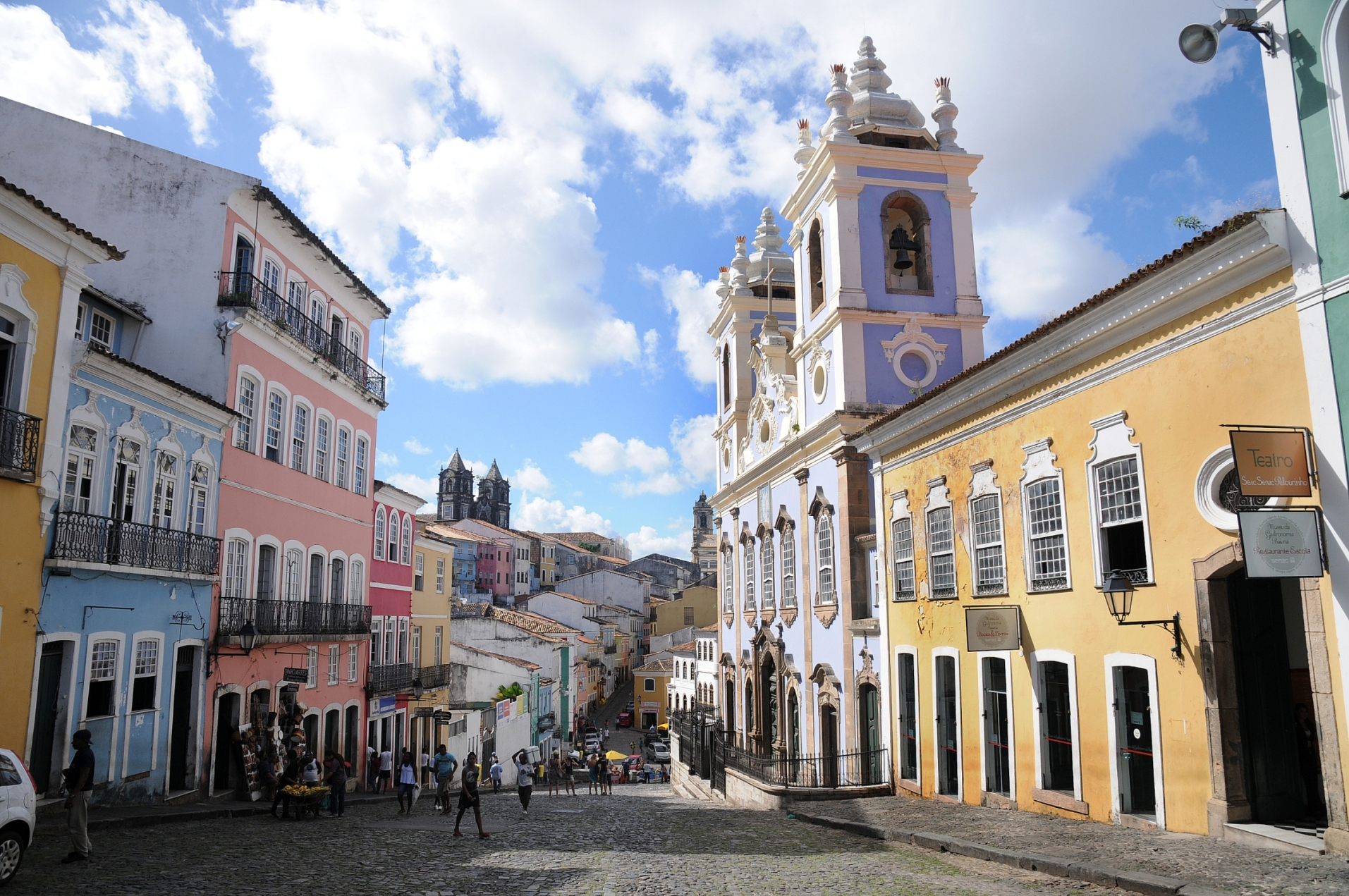 Salvador's Pelourinho - things to do in Brazil