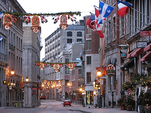 St-Paul Street Montreal Quebec Canada