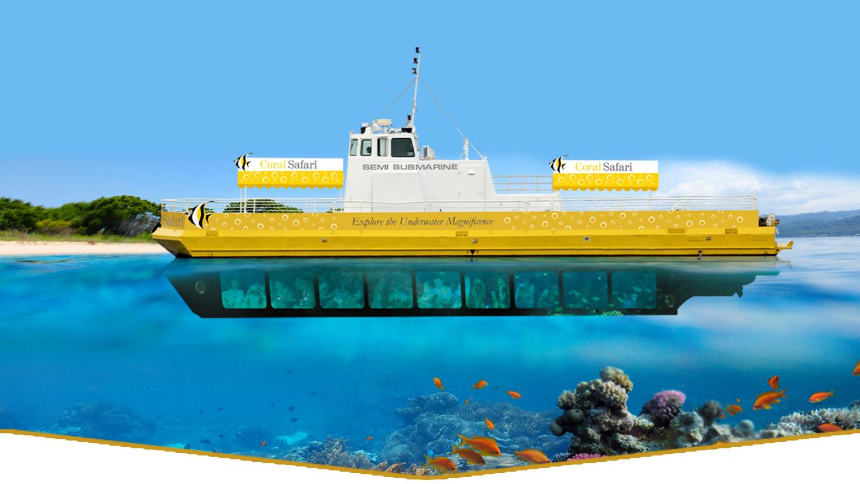yellow ship - ride a submarine