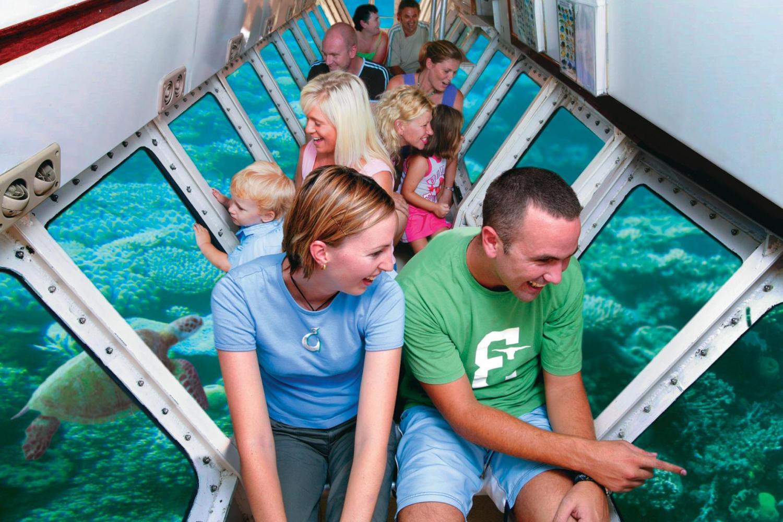 men watching - ride a submarine