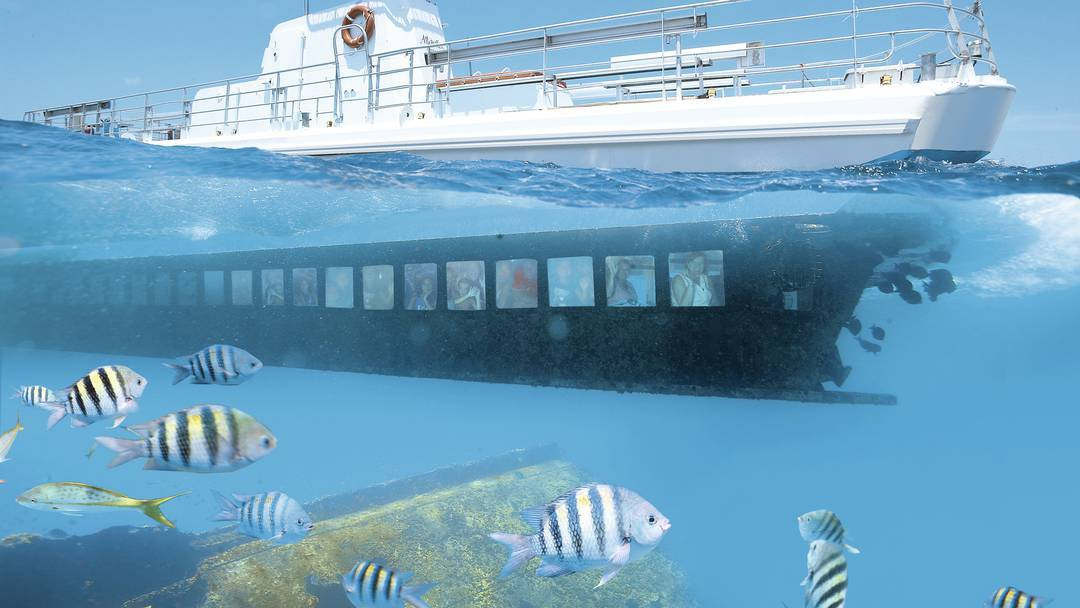 white ship - ride a submarine