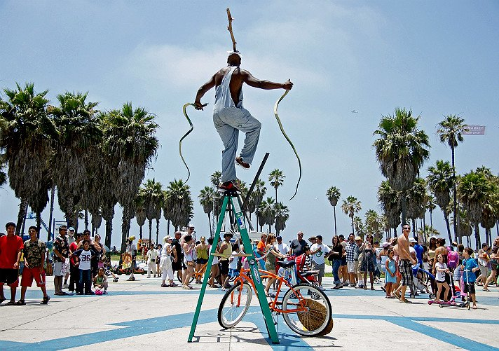 Venice beach boardwalk - things to do in los angeles