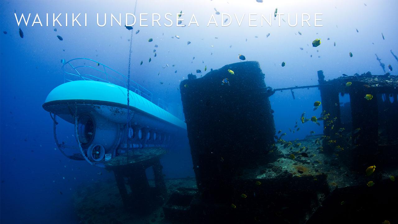 white submarine - ride a submarine