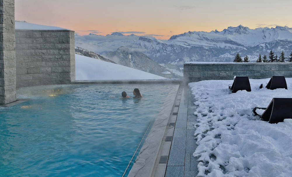 snow mountain - things to do in Switzerland in winter