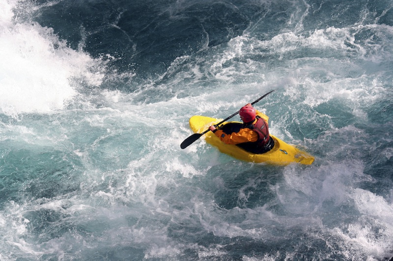 Whitewater - Boat Kayaking