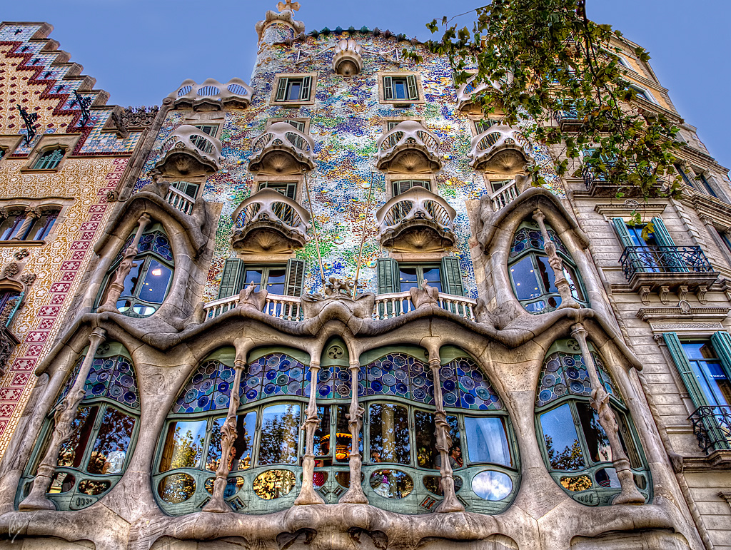 Casa Batllo - places to go in Europe