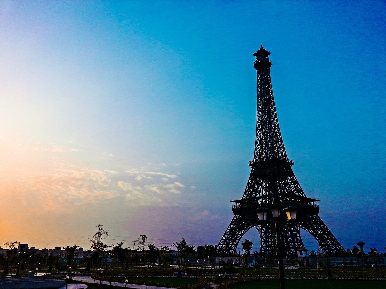 eiffel tower - things to do in Lahore