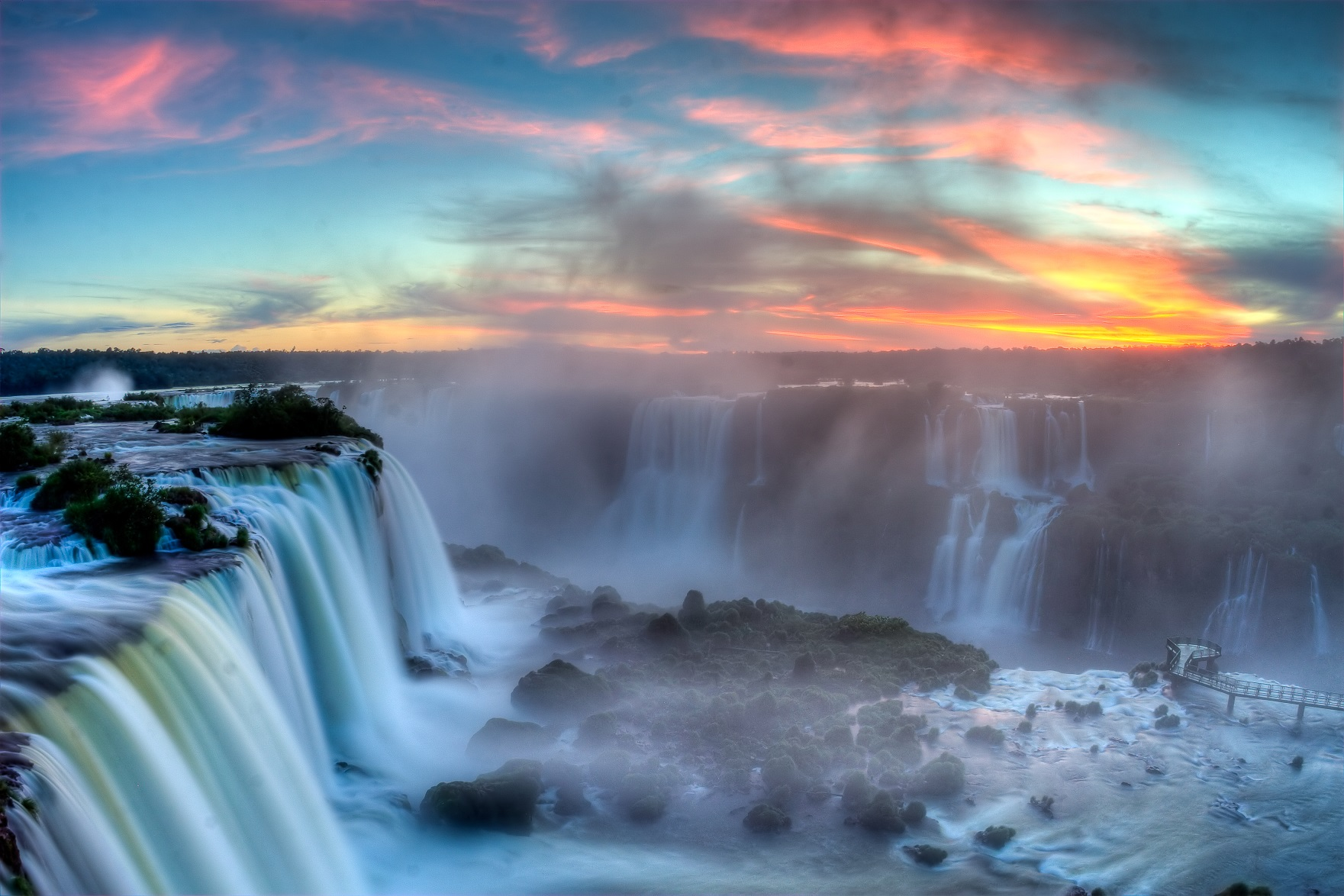 waterfalls - things to do in Brazil