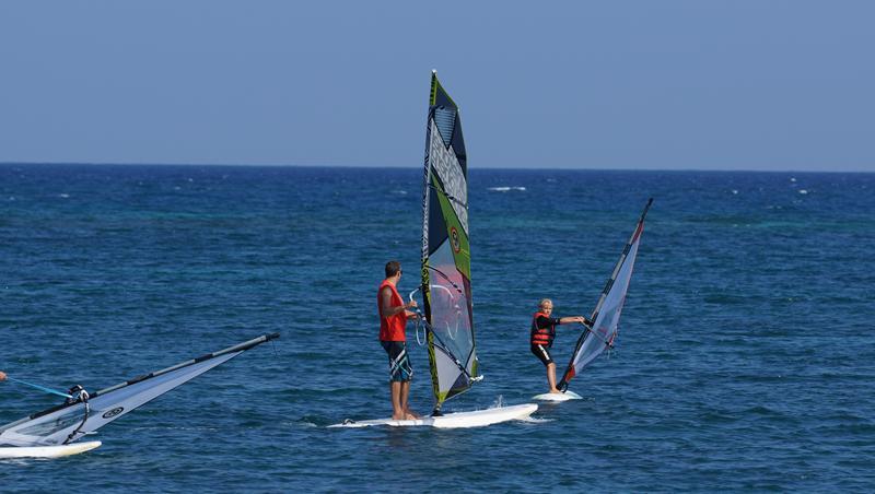 family - windsurfing