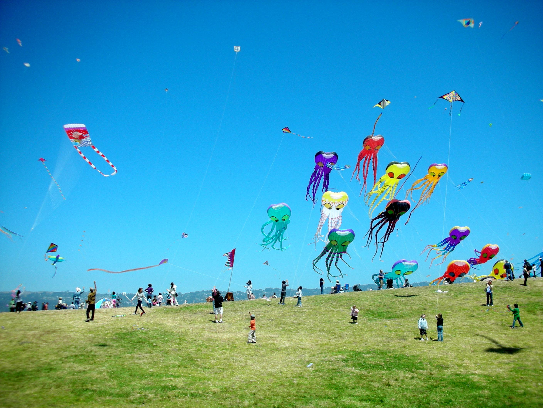 kite fly london