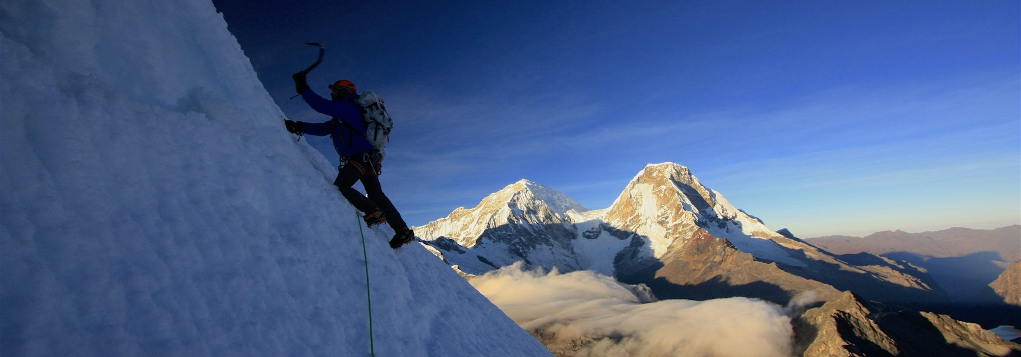 mountaineering  - mountain climbing