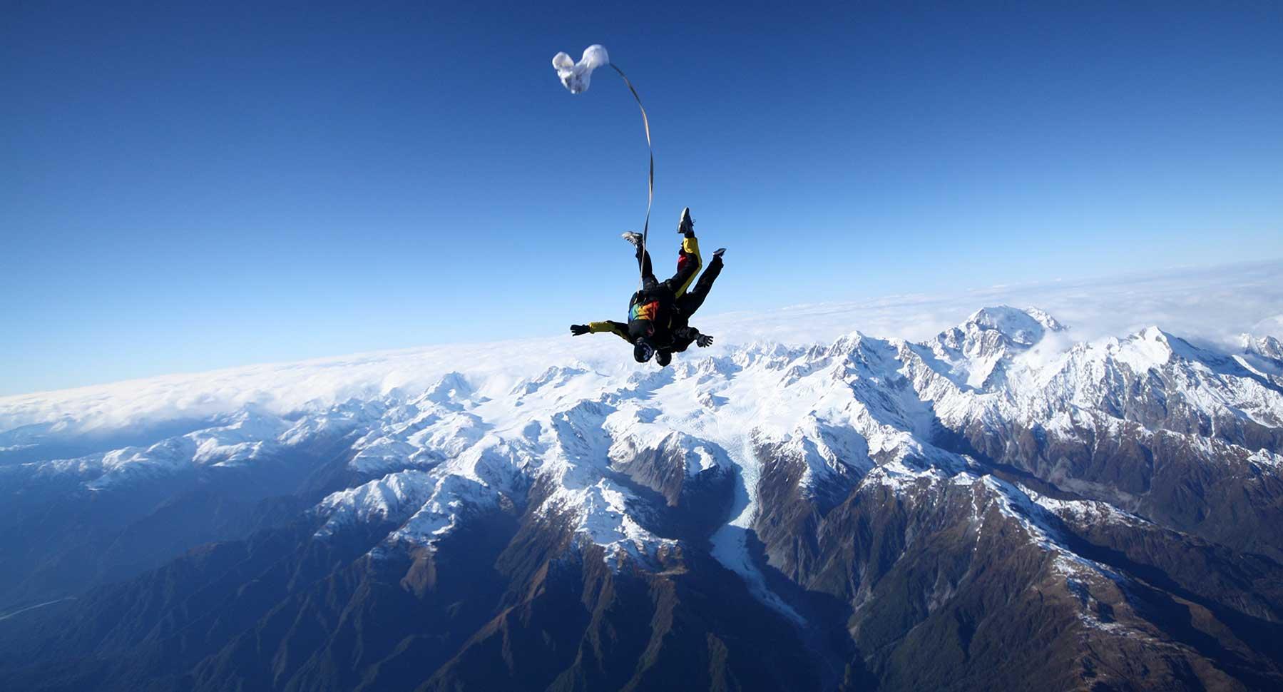 newzealand skydiving - skydiving