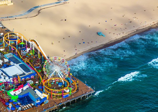 santa monica pier-things to do in la
