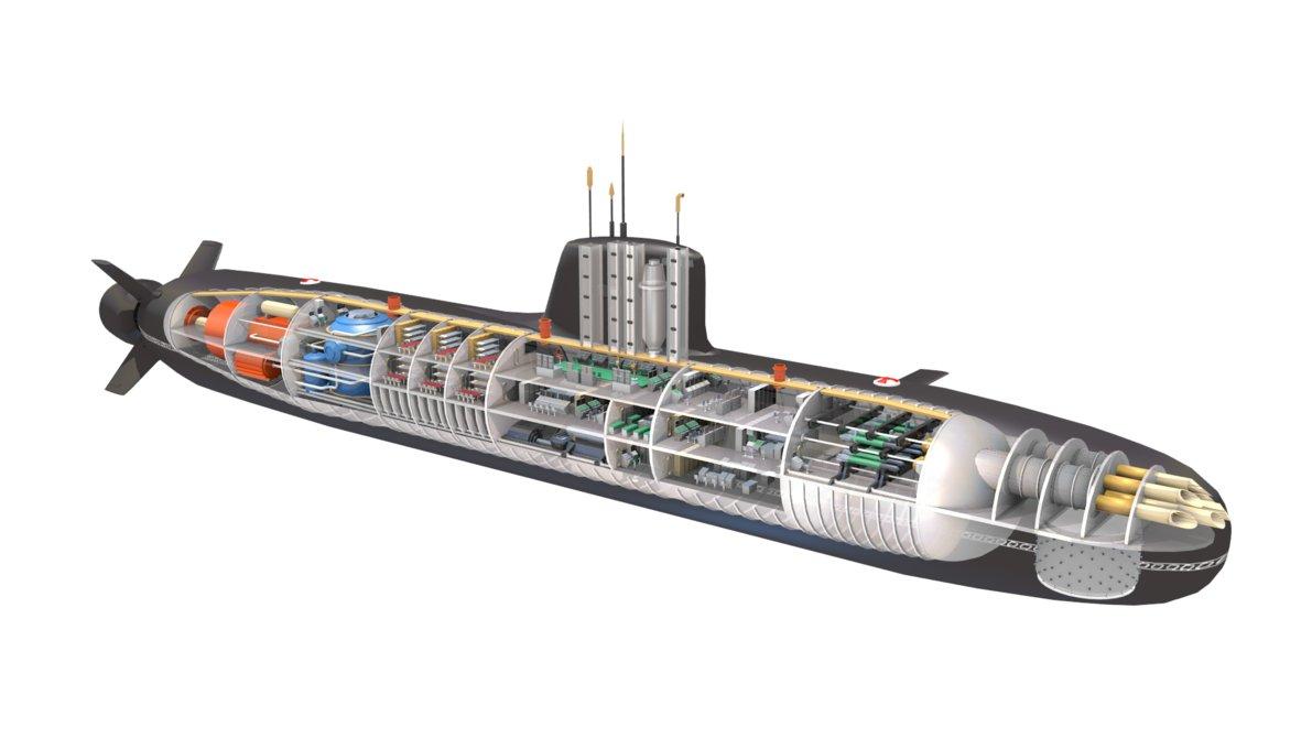 inner structure of submarine - ride a submarine