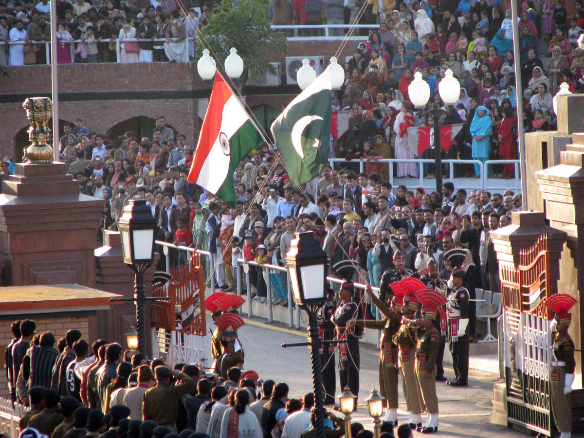 wagah border - things to do in Lahore
