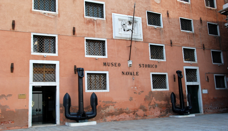 Facciata Museo Storico Navale, Things to do in Venice