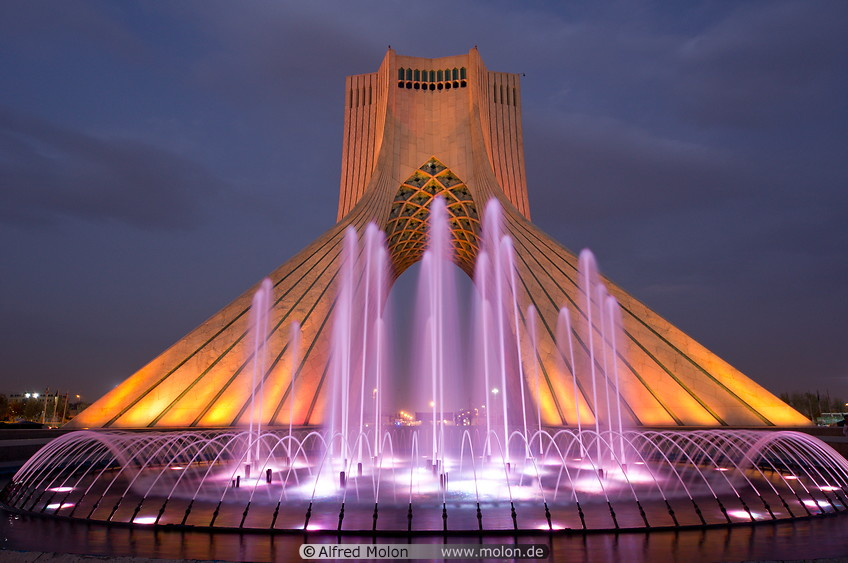 azadi tower, Things to do in Tehran