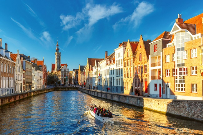 #1 of 15 Things to do in Bruges, Belgium – Take a boat tour down the canals - Things to do in Bruges