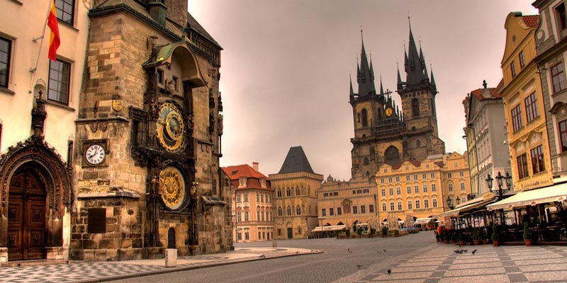 #1 of 16 Things to do in Prague – Visit the Old Town Square and the Astronomical Clock - Things to do in Prague