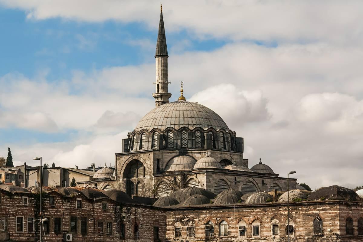 rustem-pasha-mosque, Istanbul Visiting Places