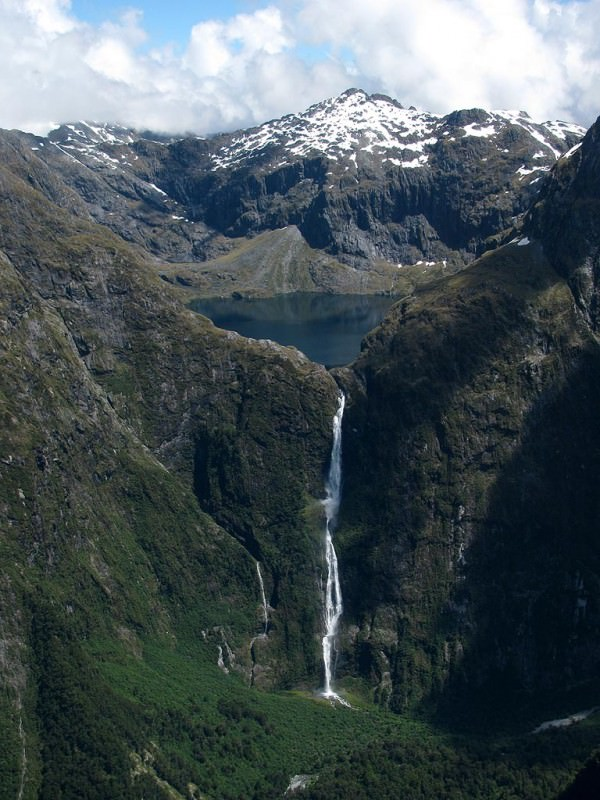 # 10 of 10 in Best Waterfalls in the World – Sutherland Falls (New Zealand) - Best Waterfalls in the World