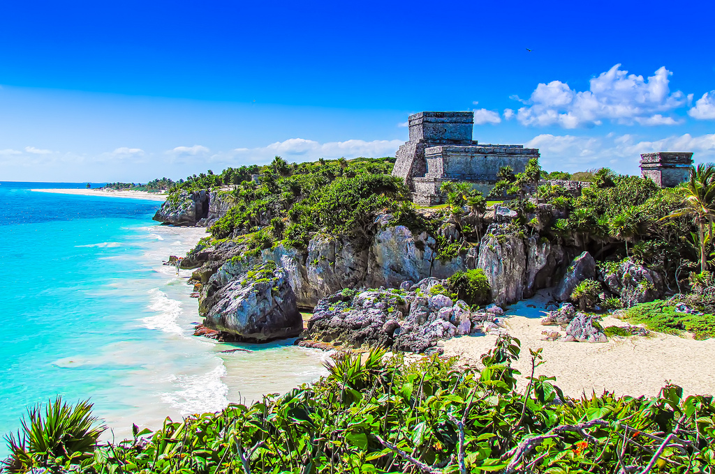 Mayan El Castillo, World's Most Beautiful Beaches