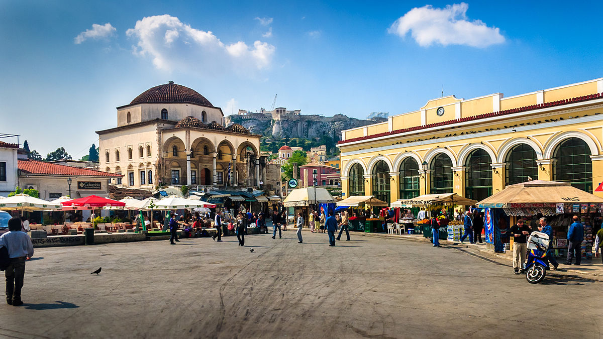 Monastiraki_square_Things to do in Athens