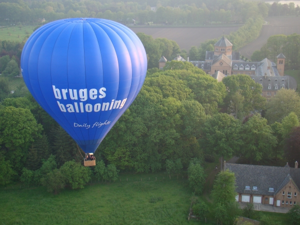 #14 of 15 Things to do in Bruges, Belgium – Ride a Hot Air Balloon - Things to do in Bruges