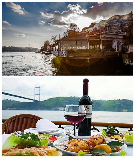 15 Best Restaurants in Istanbul - Rumelihisari Iskele