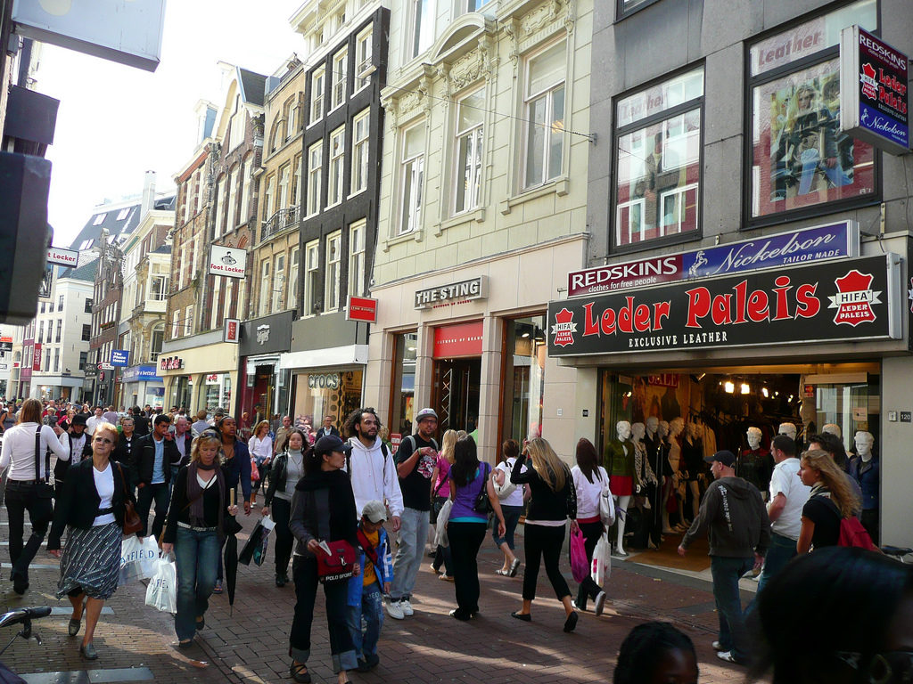 #15 of 15 Places to See in Amsterdam - Kalverstraat - Places to See in Amsterdam