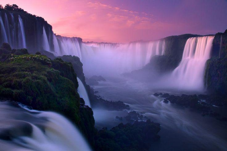 #2 of 10 in best waterfalls in the world - Iguassu Falls Brazil/Argentina-Best Waterfalls in the World