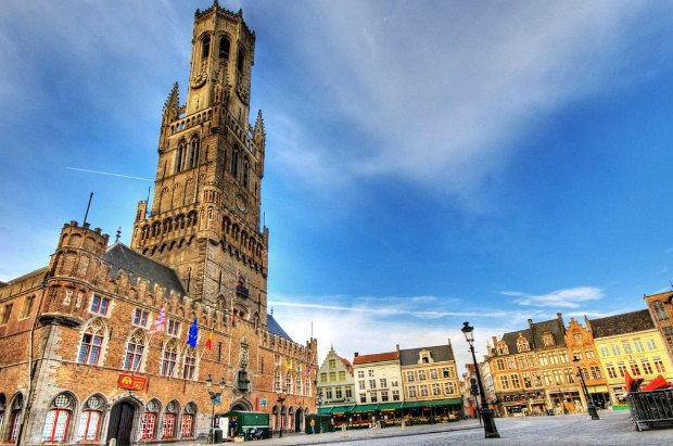 #2 of 15 Things to do in Bruges, Belgium – Find out if Belfry is really leaning! - Things to do in Bruges