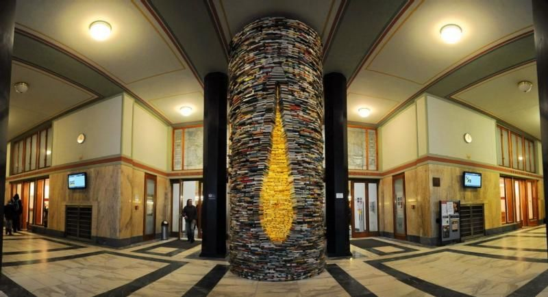 #2 of 16 Things to do in Prague – Find the Book Tunnel in the Municipal Library - Things to do in Prague