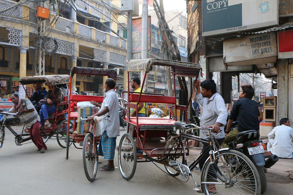 chandni chowk, Delhi, Points of Interests